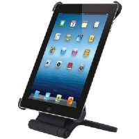 MERKURY M-IP3RS10 THE NEW IPAD(R) 3RD GEN /IPAD(R) 2, 360 ROTATING STAND (BLACK)