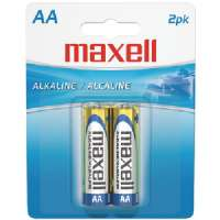 MAXELL 723407 - LR62BP ALKALINE BATTERIES (AA 2 PK CARDED)