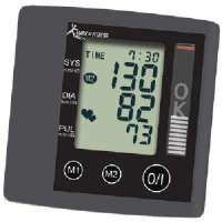 MARK OF FITNESS MF-87 2-PERSON WRIST BLOOD PRESSURE MONITOR