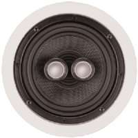"ARCHITECH PRESTIGE PS-611 6.5"" KEVLAR(TM) SINGLE-POINT STEREO CEILING SPEAKER"