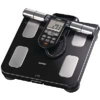 OMRON HBF-516B FULL-BODY SENSOR BODY COMPOSITION MONITOR and SCALE (BLACK)