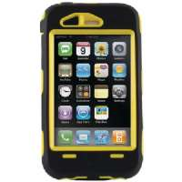 OTTERBOX 1942-05.5 IPHONE(TM) 3G/3GS DEFENDER(TM) CASE (BLACK/YELLOW)