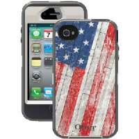 OTTERBOX 77-20646 IPHONE(R) 4/4S DEFENDER SERIES(R) CASE (RUSTIC FLAG)
