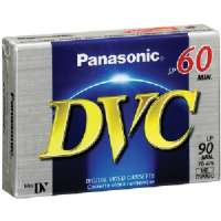 PANASONIC AY-DVM60EJ MINI DIGITAL VIDEO CASSETTE (60 MIN)