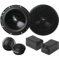 "PLANET AUDIO TQ60C 6.5"" ANARCHY 2-WAY COMPONENT SPEAKERS"