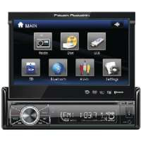 "7"" SINGLE-DIN MOTORIZED, TOUCHSCREEN LCD"