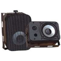 PYLE PDWR40B 5.25&quot; INDOOR/OUTDOOR WATERPROOF SPEAKERS (BLACK)