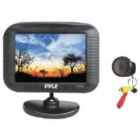 "PYLE PLCM35 3.5"" TFT LCD MONITOR/NIGHT VISION BACKUP CAMERA KIT"