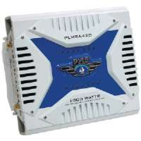 PYLE PLMRA420 WATERPROOF MARINE BRIDGEABLE MOSFET AMPLIFIERS (4-CHANNEL 1000 WATT)