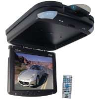"PYLE PLRD103F 10"" ROOF-MOUNT MONITOR WITH BUILT-IN DVD PLAYER"