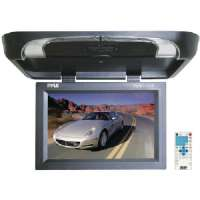 "PYLE PLRD175IF 17"" FLIP-DOWN MONITOR WITH BUILT-IN DVD/SECURE DIGITAL CARD(TM)/USB PLAYER and WIRELESS FM MODULATOR/IR TRANSMITTER"