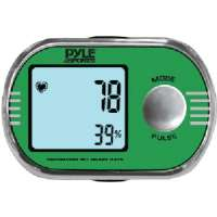 PYLE PPDE60 PEDOMETER WITH PERSONALIZED CALIBRATION FOR WALKING and RUNNING and ECG FINGER TOUCH