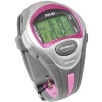 PYLE PSWLMR30P LADIES' MARATHON RUNNER WATCH (PINK)