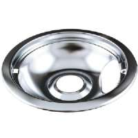 RANGE KLEEN 101-AM UNIVERSAL CHROME DRIP PAN, STYLE A (6&quot;)