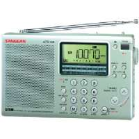 SANGEAN ATS505P 16-BAND DIGITAL AM/FM STEREO SHORT-WAVE RECEIVER