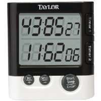 TAYLOR PRECISION 5828 DUAL EVENT DIGITAL TIMER/CLOCK