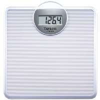 "TAYLOR 701440132 LITHIUM DIGITAL SCALE WITH EASY-TO-READ 1"" READOUT (WHITE)"