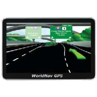WORLDNAV 520060 HIGH RESOLUTION 5&quot; TRUCK GPS RECEIVER WITH BT and FM