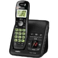 UNIDEN D1483BK DECT 6.0 CORDLESS PHONE SYSTEM WITH ANSWERING SYSTEM and CALLER ID (BLACK)