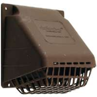DEFLECTO HR4B REPLACEMENT VENT HOOD (BROWN)