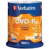 Verbatim® DVD-R Recordable Disc