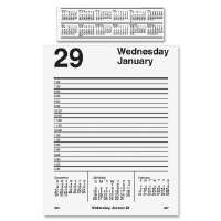 Daily Desk Calendar Refill, F/ E58 Base, Jan-Dec, 5x8