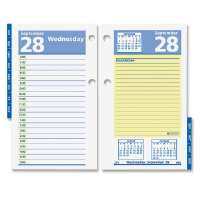 Calendar Refill, For 17-Style Base, 3-1/2x6, White