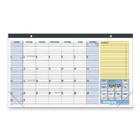 Quick Note Desk/Wall Cal,Jan-Jan 13 Month,17-3/4x10-7/8