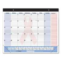 Quicknotes Monthly Desk Pad,13 Mth,Jan-Jan,22x17