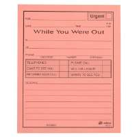 Message Pad,While You Were Out,50 Sheets/PD,12/PK,4x5,PK