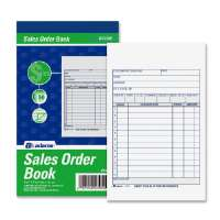 Sales Order Book, 2-Part, 4-3/16x7-3/16