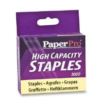 ACCENTRA, INC Staples, 60 Sheet Capacity, 3000 Staples/BX, Silver