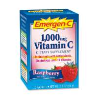 Emergen-C, Raspberry, 10PK/BX, Multi
