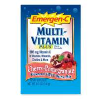Adult Multivitamin, Vitamin C/B, 30/BX, Cherry Pomegranate