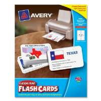 Flashcards, 3x5, 14 Shts, 56/PK, White