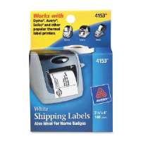 Multi-purpose Labels, 4x2-1/8, 140/Roll, 1 RL/BX, White
