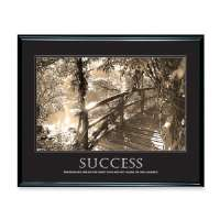 Motivational Poster, Success, 30x24, Scratch-Rest, BK