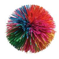 Stringy Stress Ball, 3 Diameter, Rubber