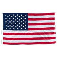 Nylon American Flag, Stitched, 4'x6'