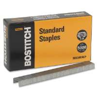 Standard Staples,Chisel Point,Round Wire, 1/2W, 1/4L
