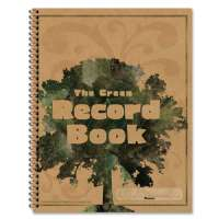 Green Record Book, 96 Pages, 8-1/2x11