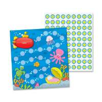 Mini Incentive Chart, Sea Life, 30/PK, Multi-Color