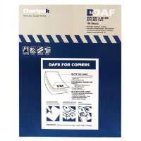 Drafting Film,Film Backing,Permanent,8-1/2x11,100/BX