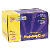 Modeling Clay, Non-Toxic, 5 Lb., Assorted