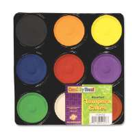 CHENILLE KRAFT COMPANY Tempera Blocks, Non-Toxic, 9 Set, Assorted