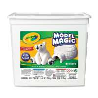 Crayola Model Clay,2lb,8-1/2x5-1/2x8-1/2,White