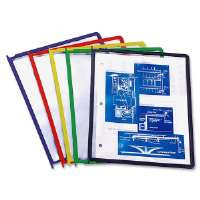 Refill Panels, Letter-Size, Set of 5, Assorted