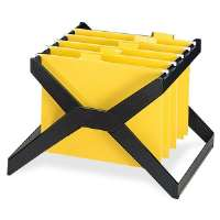 Desktop Hanging File X-Rack,Letter/Legal,16x12x11,Black