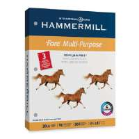 HAMMERMILL PAPERS GROUP MP Paper,20Lb,3-Hole,8-1/2x11,96 GE/112 ISO,WE