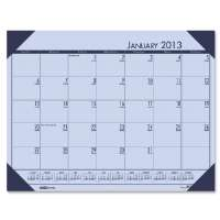 Desk Pad, 12 Month, Jan-Dec, 22x17, Orchid